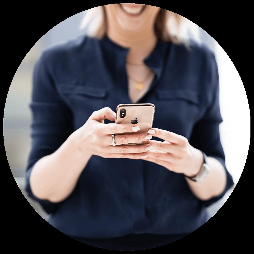 refra me Termin per Handy vereinbaren
